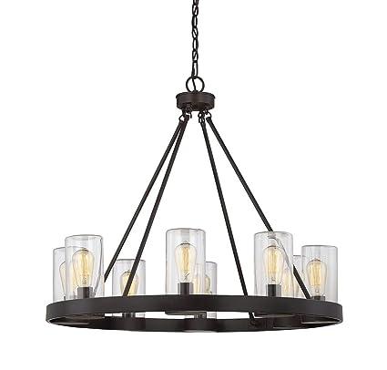 Amazon.com: Savoy House Inman 8-Light al aire última ...