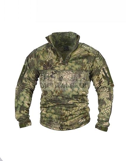 f8cb4a28 Men Military Airsoft Combat BDU Shirt US Army Gen3 Tactical Shirt with Elbow  Knee Pads (Kryptek Mandrake, XXXXL): Amazon.ca: Sports & Outdoors