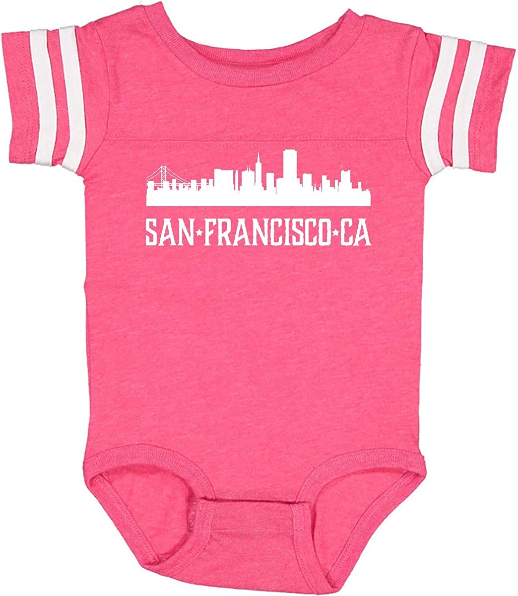 Inktastic San Francisco California Skyline CA Cities Infant Creeper City Travel