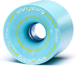 Orangatang 4 President 70 mm Cruising Longboard Skateboard Wheels (Set of 4)