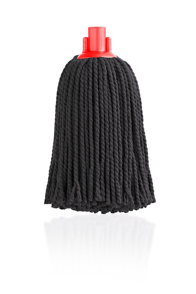 Maya Professional Tools 08110-R Microfibre Mop, 160 g, Black 160g