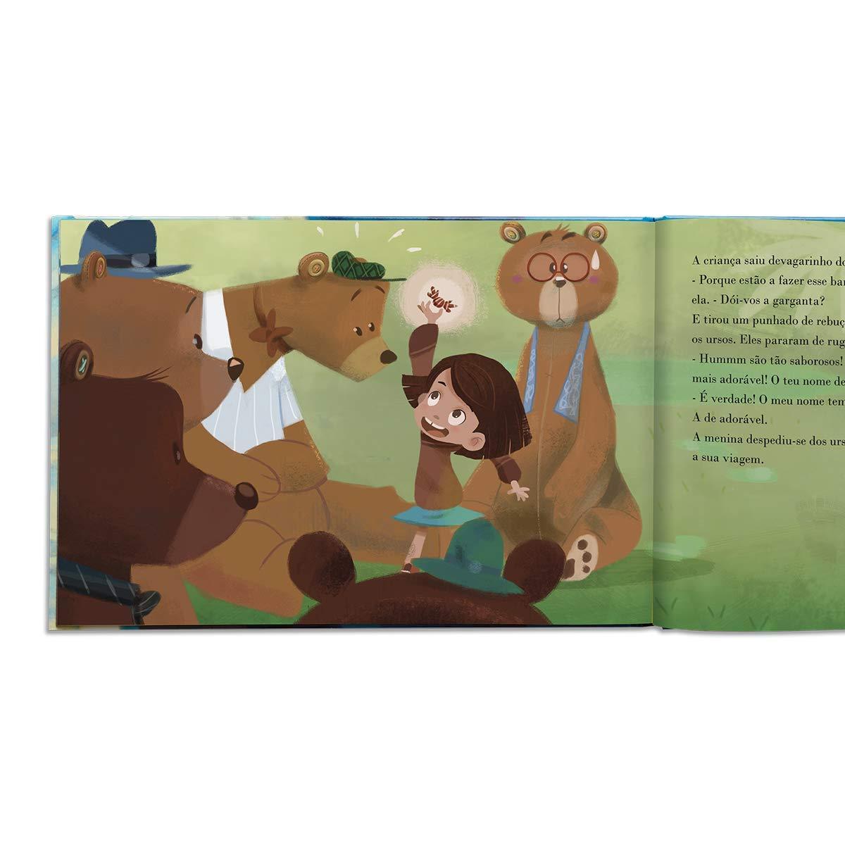 Libro infantil personalizado en catalán la magia de mi nombre de 0 a 8 años My Magic Story