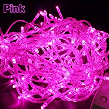 Pretty Fairy Light for Wedding Party (20M 66FT, Pink)