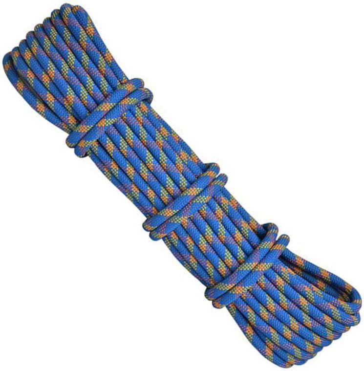 プロフェッショナルアウトドアロッククライミング安全ロープ、直径10.5ミリメートル、高強度アクセサリーコードクライミング機器ロープキャンプサバイバル登山のため (色 : 1, サイズ : 10.5 mm wide 50m long)