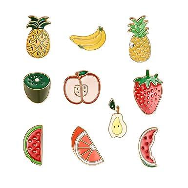 Ruikey 1 Set Broche De Frutas Broche De Elegante Broches De ...
