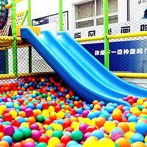 Supmeet/™ 10//100//200//500//1000 St/ück bunte Kugel Fun Ball weichen Kunststoff Ozean-Kugel-Baby-Kind-Spielzeug-Schwimmen-Pit-Spielzeug 5cm, 10 St/ück