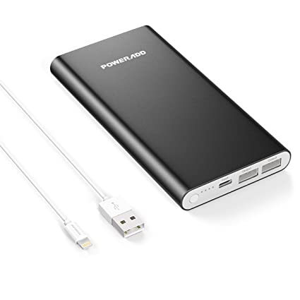 Apple Lightning 12000mAh Portable Charger Poweradd Pilot 4GS Dual 3A Port External Battery Pack with  sc 1 st  Amazon.com & Amazon.com: Apple Lightning 12000mAh Portable Charger Poweradd ... azcodes.com