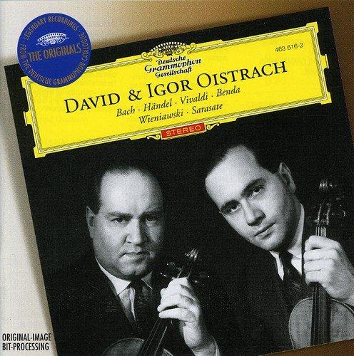 CD : Igor Oistrakh - Works For Two Violins (Holland - Import)