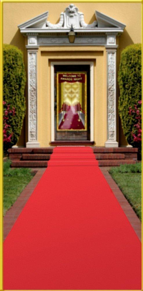 Red Carpet Runner, 24'' X 15' (1/pkg) Pkg/6