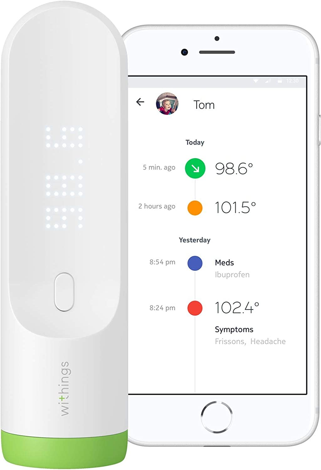 Withings Thermo Schläfenthermometer