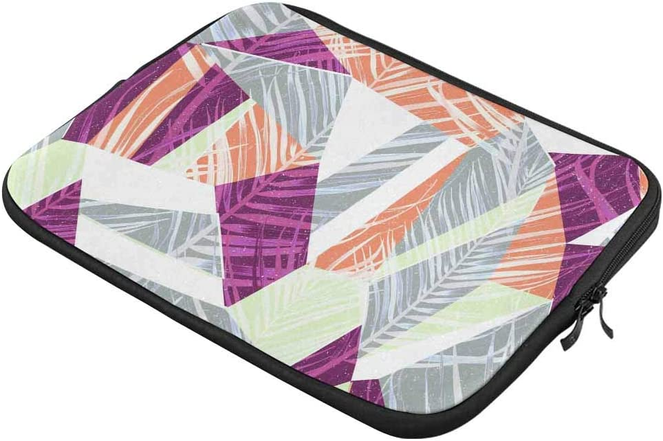 Colorful Geometric Laptop Sleeve Case 13 13.3 Inch Briefcase Cover Protective Notebook Laptop Bag