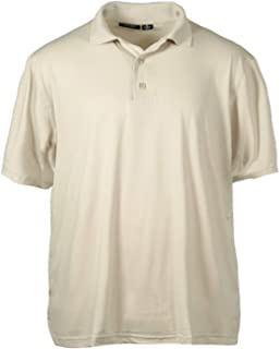 product image for Akwa Made in USA Men's Stretch Poly Jersey Dry Wicking Polo