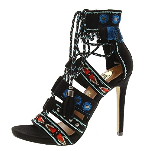 Tacón Stiletto esZapatos Negra SilviaAmazon Exe Sandalia Y Shoes CBodWerx