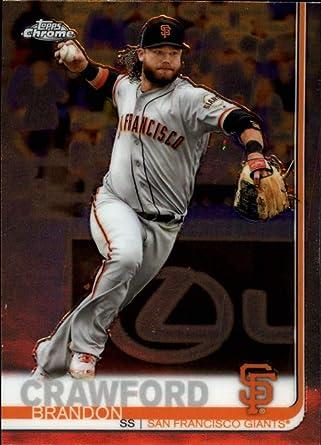2011 Bowman Draft Picks /& Prospects Chrome #25 Brandon Crawford RC Rookie Card