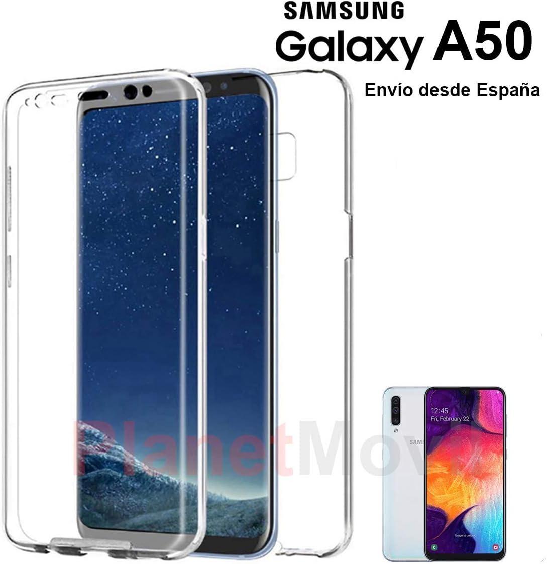 Funda 360 Compatible con [ Samsung Galaxy A50 y con Samsung Galaxy ...