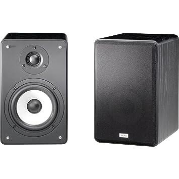 TEAC LS H255 BK 2 Way System Bookshelf Speakers