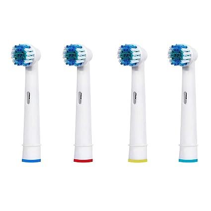 IM77R 4 Recambios Cepillo Electrico Compatible Oral-b, Complatible/ Vitaly Precision Clean,