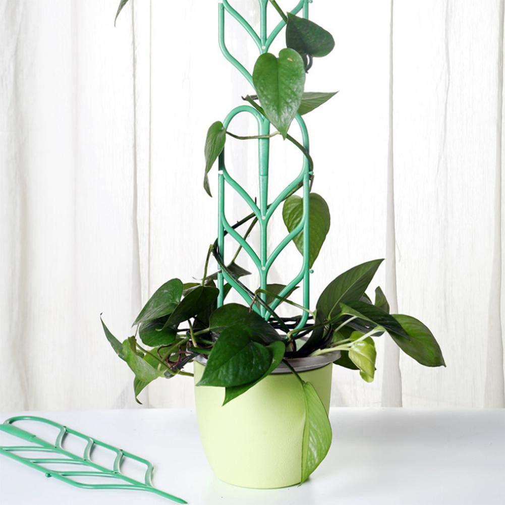 Enrejado de jardín Flor de plástico Ratán para plantas trepadoras ...