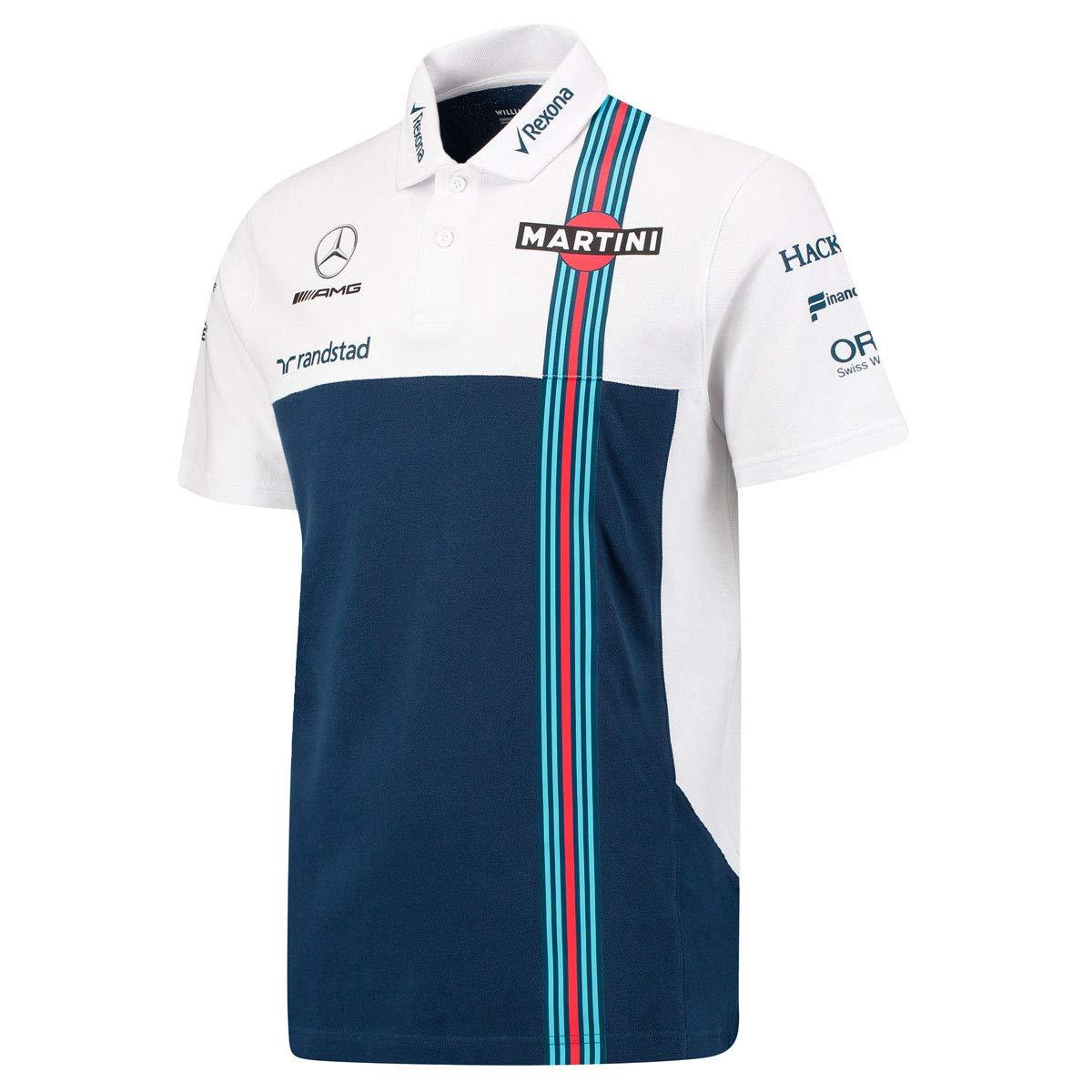 Williams Martini F1 Mercedes PQ - Polo, Color Blanco y Azul Marino ...