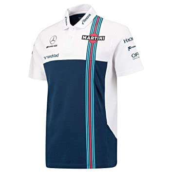Williams Martini F1 Mercedes PQ - Polo, Color Blanco y Azul Marino ...