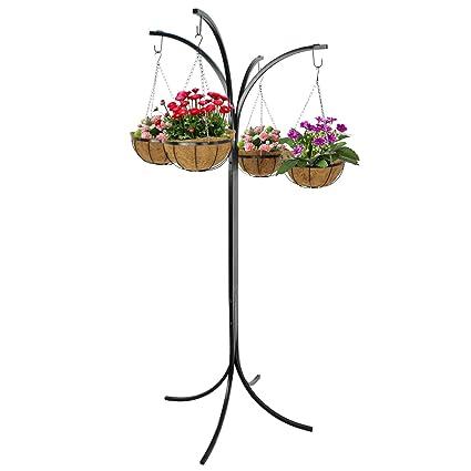 Amazon Vanda48 Hanging Holder Stand Basket Plant Patio Awesome Backyard Florist Decor
