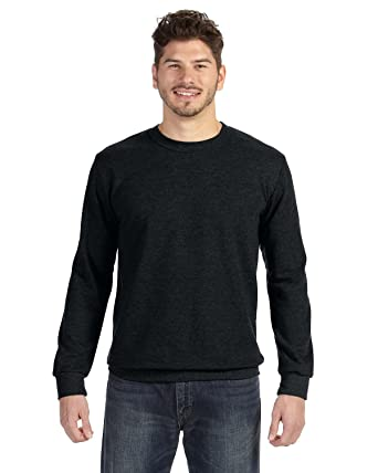 ddd0d8e9b Anvil Adult Crew Neck French Terry Fleece