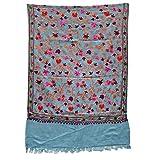 Pashmina Wrap Shawl Kashmir Embroidered