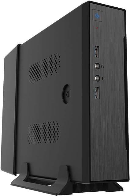 CoolBox IPC-2 carcasa de ordenador Mini-Tower Negro 60 W - Caja de ...