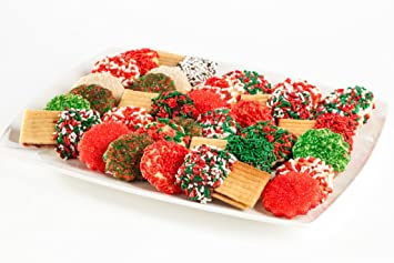 Amazon Com Christmas Butter Cookies Christmas Blend Sprinkles