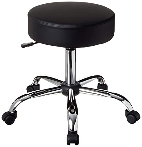 Surprising Boss Office Products Be Well Medical Spa Stool In Black Inzonedesignstudio Interior Chair Design Inzonedesignstudiocom