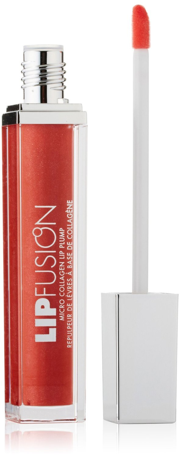 (Pack 2) Fusionbeauty Lipfusion Micro-injected Collagen Lip Plump Color Shine, Fresh