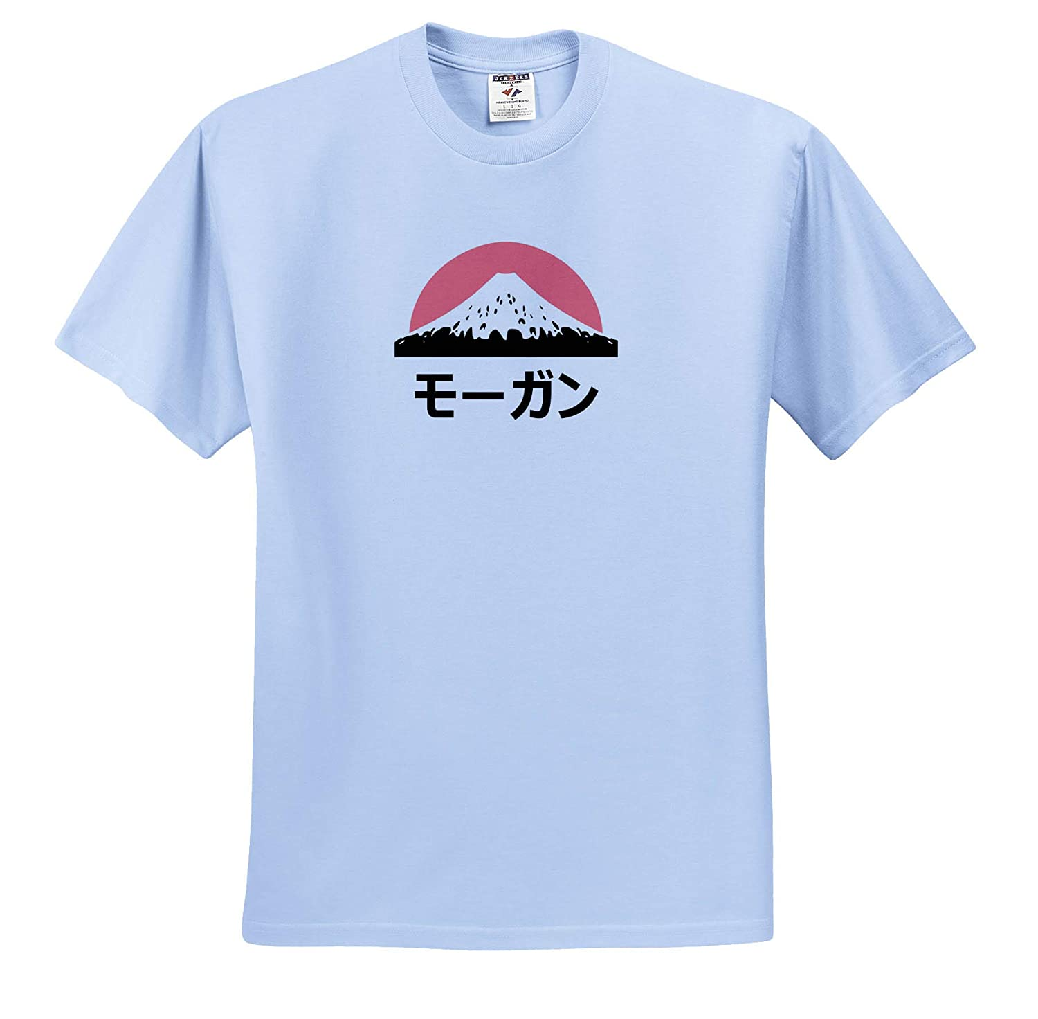Adult T-Shirt XL Name in Japanese ts/_320589 Morgan in Japanese Letters 3dRose InspirationzStore