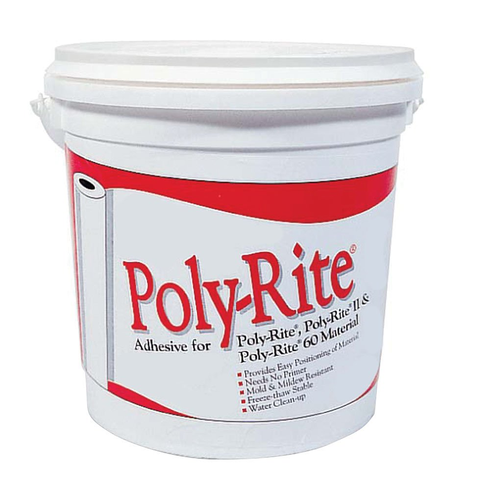 Offex Poly-Rite One Gallon Adhesive - Case of 4