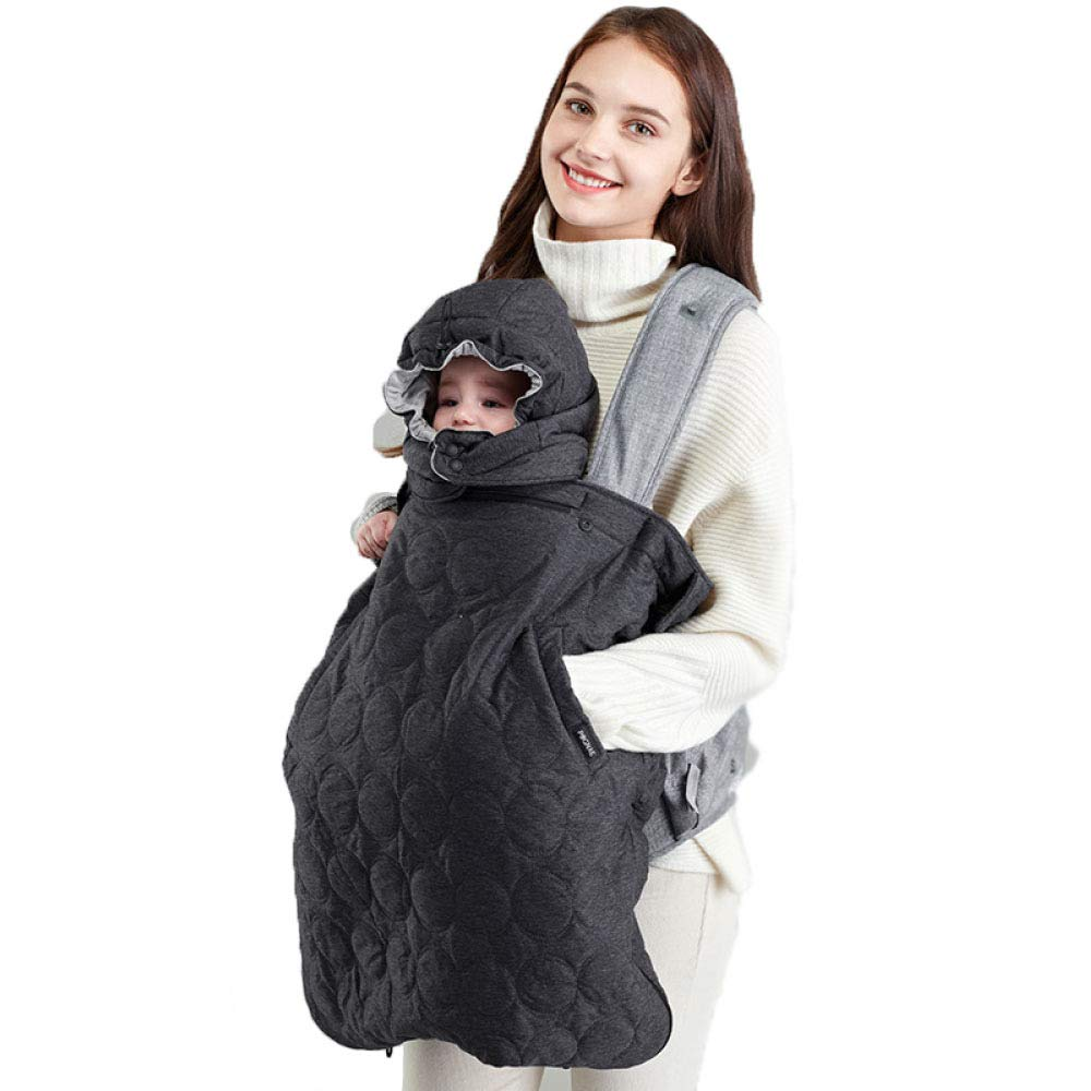 Winter Windproof Velvet Baby Carrier Cloak Baby Sling Mantle Cover Infant Carrier Backpack Cloak Mother & Kids Backpacks & Carriers