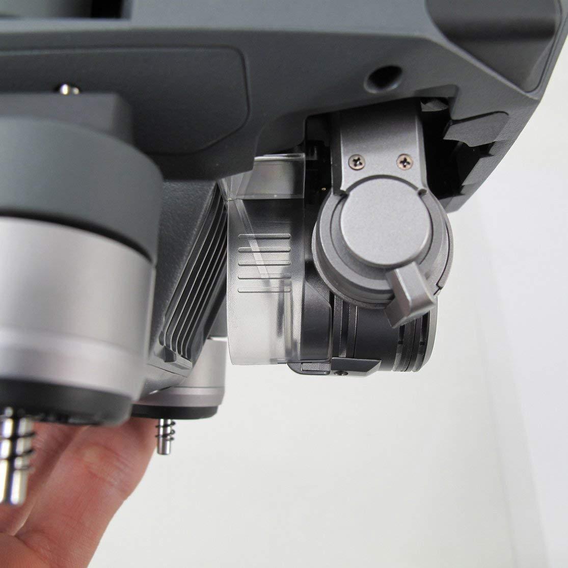 LouiseEvel215 Supporto Morsetto Blocco Fibbia PTZ Fotocamera Obiettivo Copertura del Coperchio del Giunto cardanico Compatibile per DJI Mavic PRO Drone ricambi Accessori compone