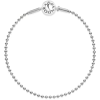 4af25e0e4 Image Unavailable. Image not available for. Color: Pandora Essence Beaded  Silver Bracelet 59600218