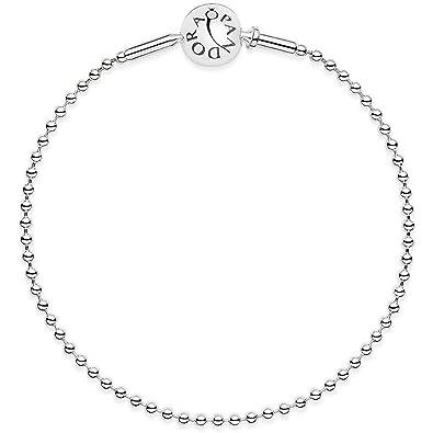 3639a7d71 Pandora Women's Bracelet Essence 925 Silver 596002: Amazon.co.uk: Jewellery