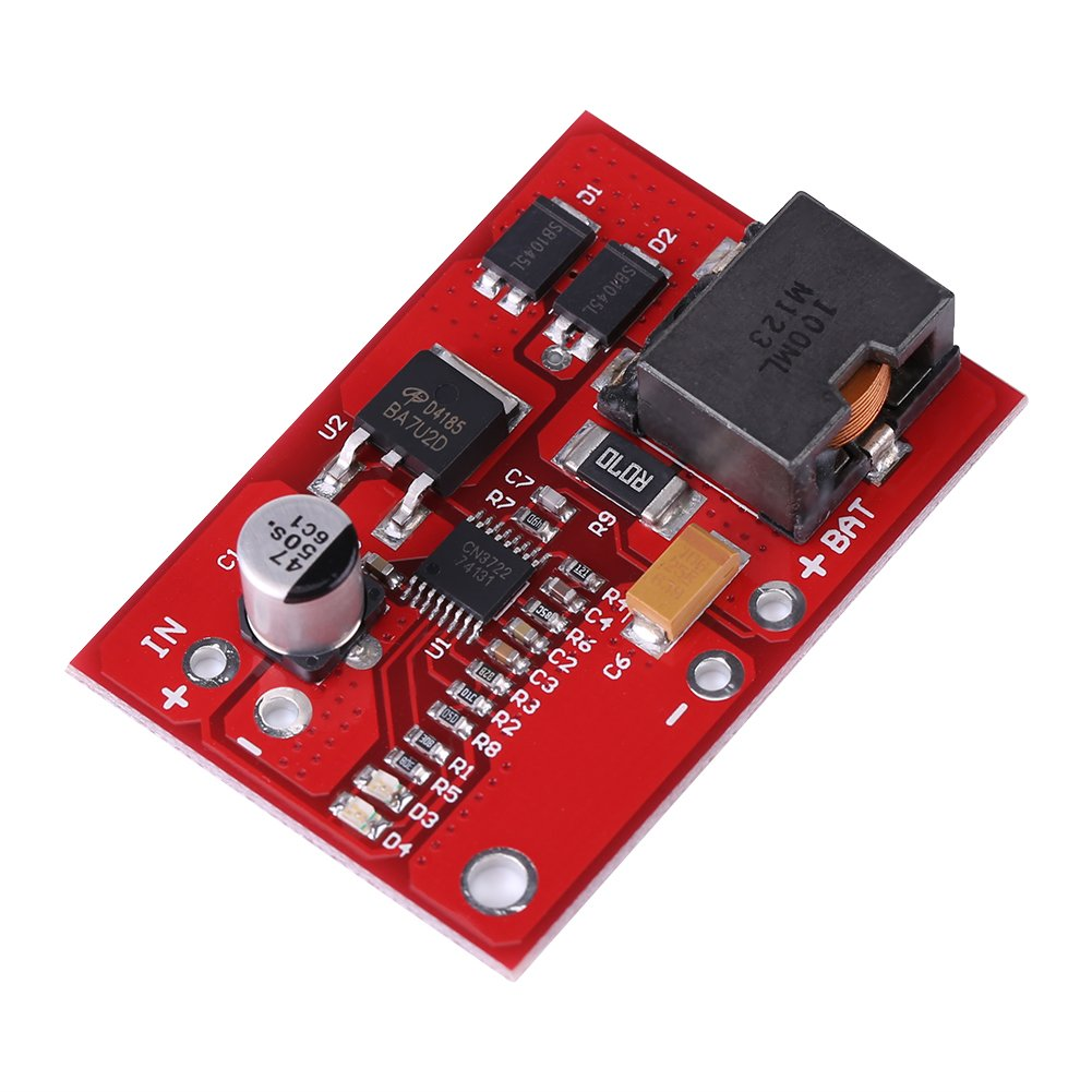Regolatore di carica solare MPPT, Asixx 12V MPPT Pannello solare Controller Modulo di ricarica per batterie al litio Li-ion 18650 serie 3