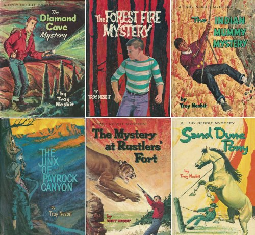 The Wilderness Mystery Series Complete 6-Book Set: The Diamond Cave Mystery, The Forest Fire Mystery, The Indian Mummy Mystery, The Jinx of Payrock Canyon, The Mystery at Rustlers' Fort, and - Paul Frank Frames