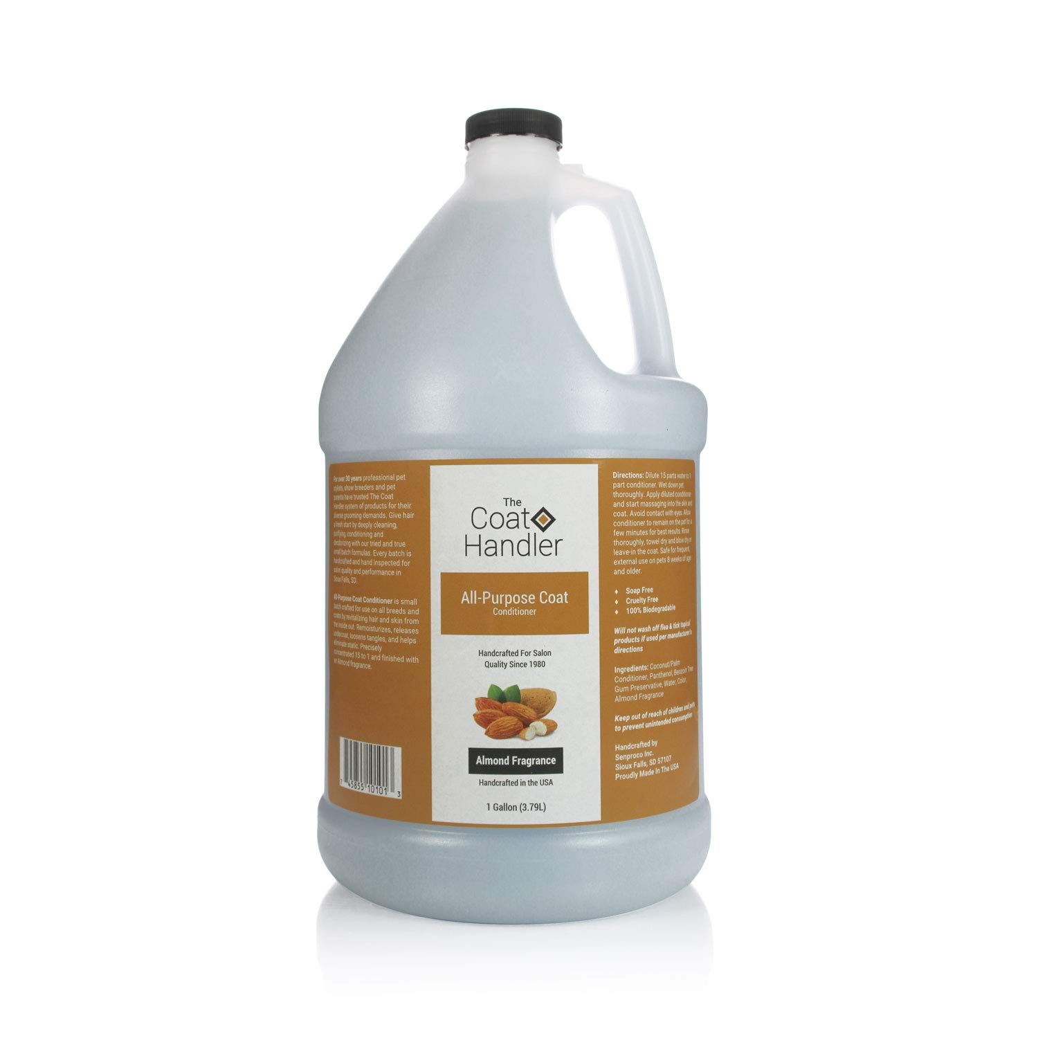Coat Handler The All-Purpose Coat Conditioner 1 Gallon by Coat Handler