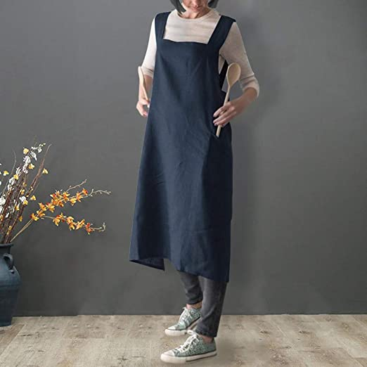 delantal de estilo japonés