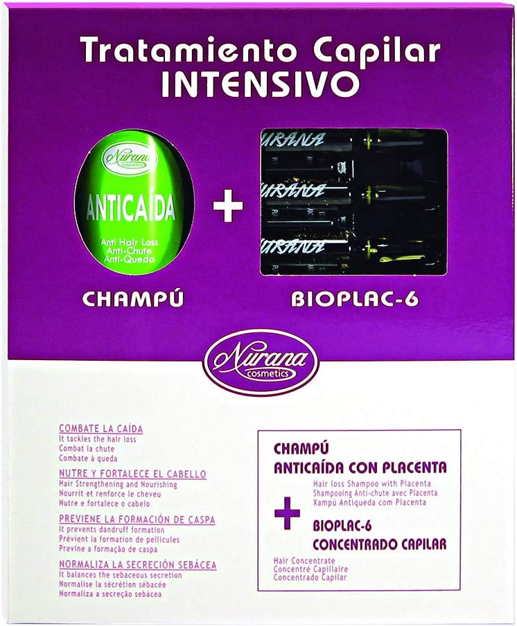 Nurana Cosmetics, Set de regalo de pelo - 2 Piezas