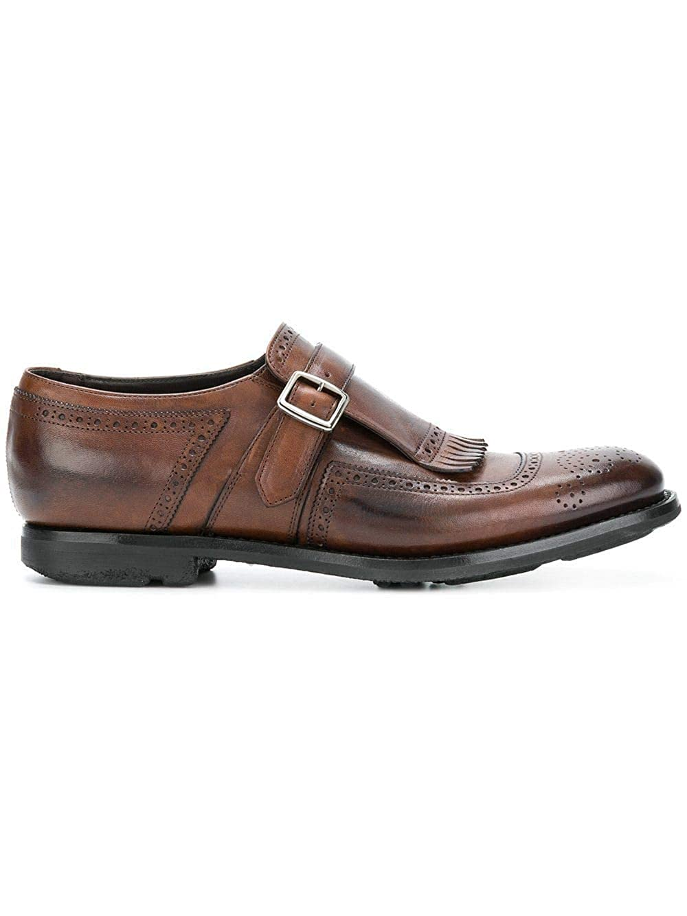 - Church& Church& Church& 039;s Herren EOG0019MOF0AXO Braun Leder Monk-Schuhe  Qualität zuerst Verbraucher zuerst