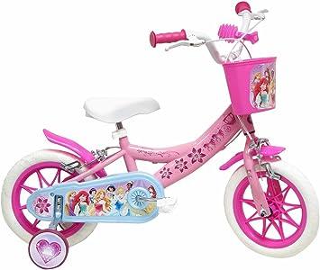 Denver Srl. Disney - Bicicleta con ruedines y Cesta: Amazon.es ...