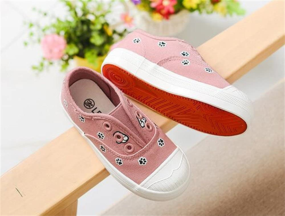 Kids Canvas Shoes Spring Autumn Running Sneakers Children Kids Shoes Soft and Comfortable Flat School Shoes 0,0