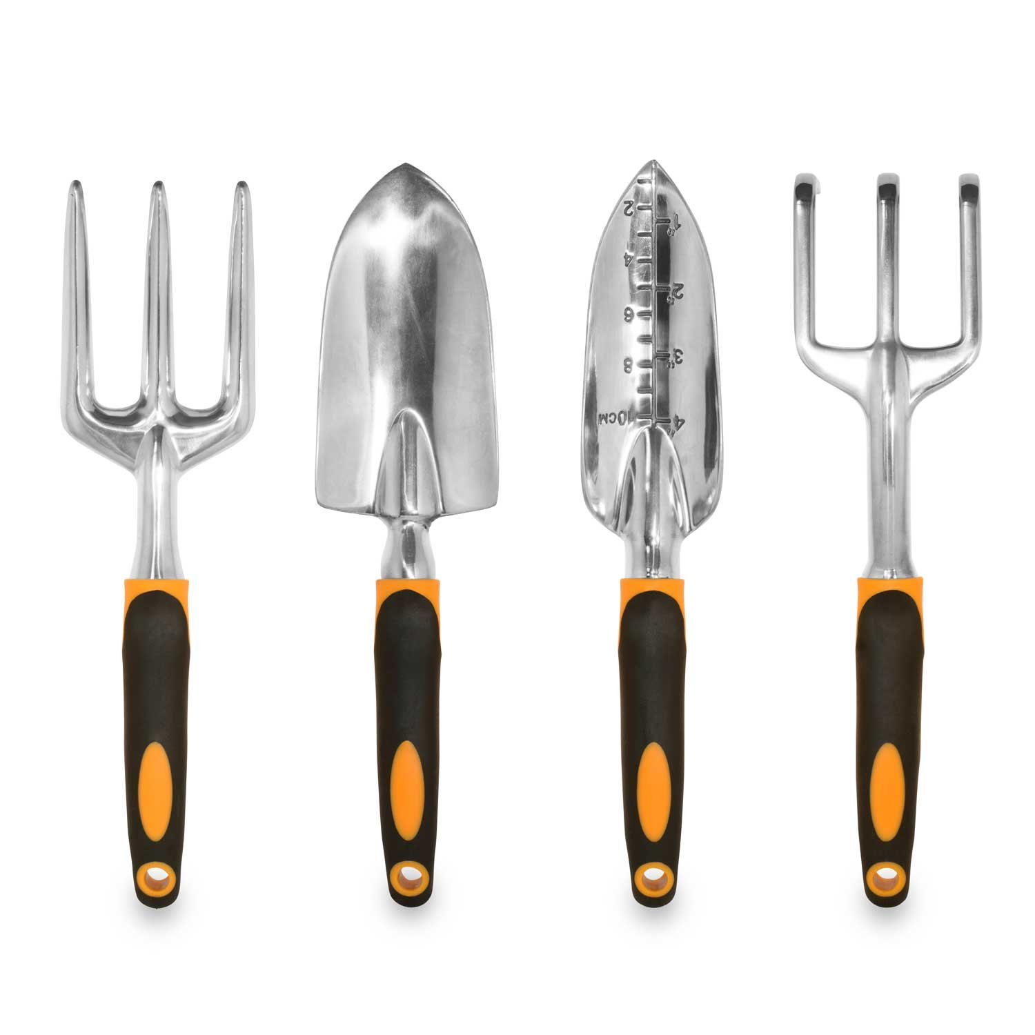 The garden tool review gardening tool reviews from a professional - Amazon Com Gardenhome Ergonomic Garden Tools 4 Piece Tool Set With Trowel Cultivator Transplanter And Weeding Fork Garden Outdoor