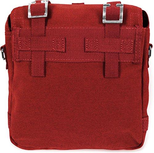 MFH BW TOP - Bolso bandolera (tamaño pequeño) rojo