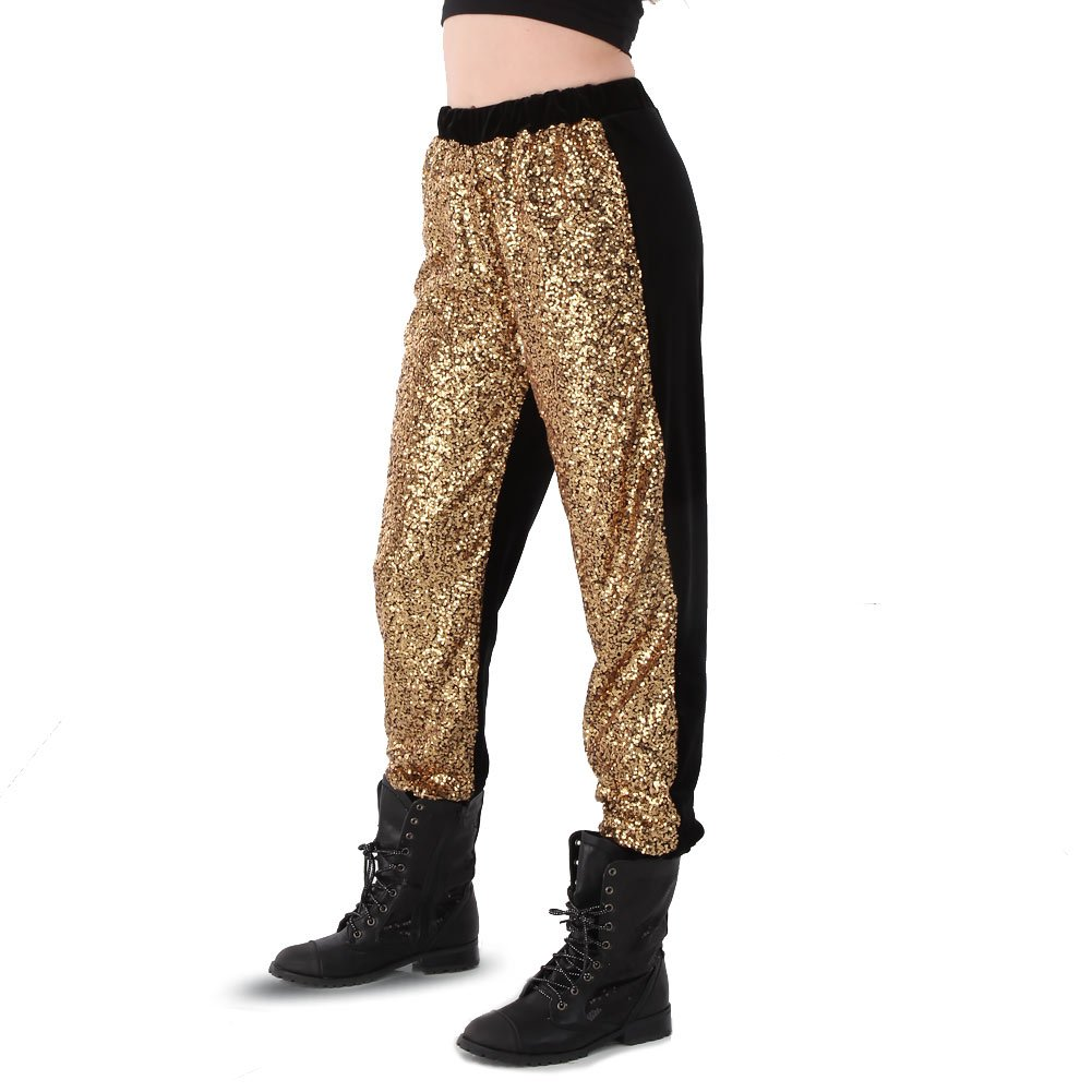 Alexandra Collection Sequin Jogger Dance Costume Hip Hop Pant