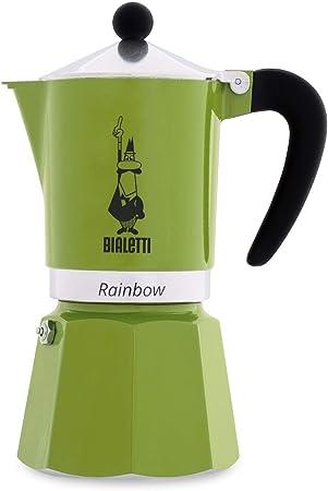 Bialetti Rainbow Cafetera Italiana Espresso, 6 Taza, Aluminio, Rojo: Amazon.es: Hogar