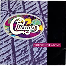CHICAGO / You're Not Alone / 45rpm record + picture sleeve